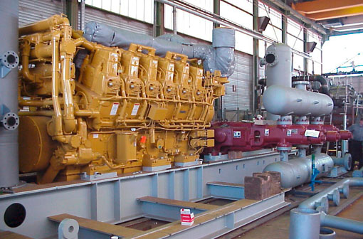 Gas Process and Air Compressors Engineered Prodcuts PEG